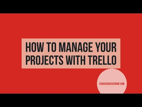 How to Manage Your Projects with Trello 1