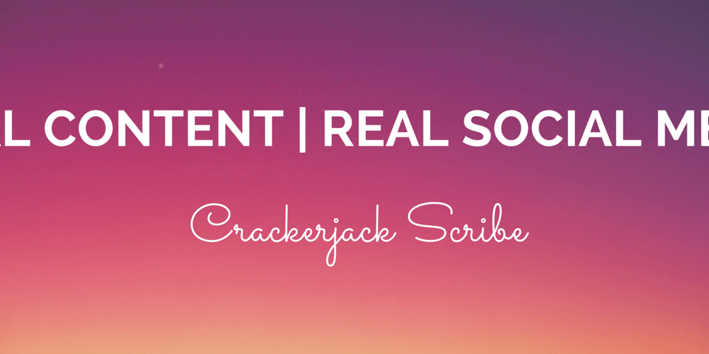 Real Content - Real Social Media