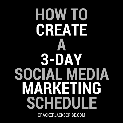 How to Create a 3-Day Social Media Marketing Schedule