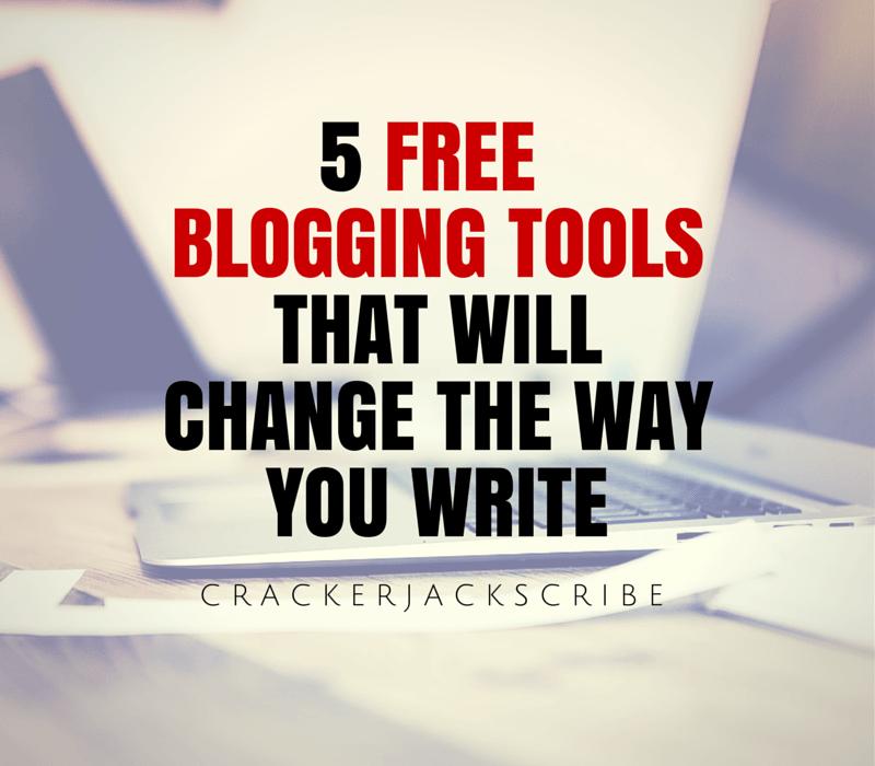 5 Free BloggingTools ThatWill ChangeThe Way You Write