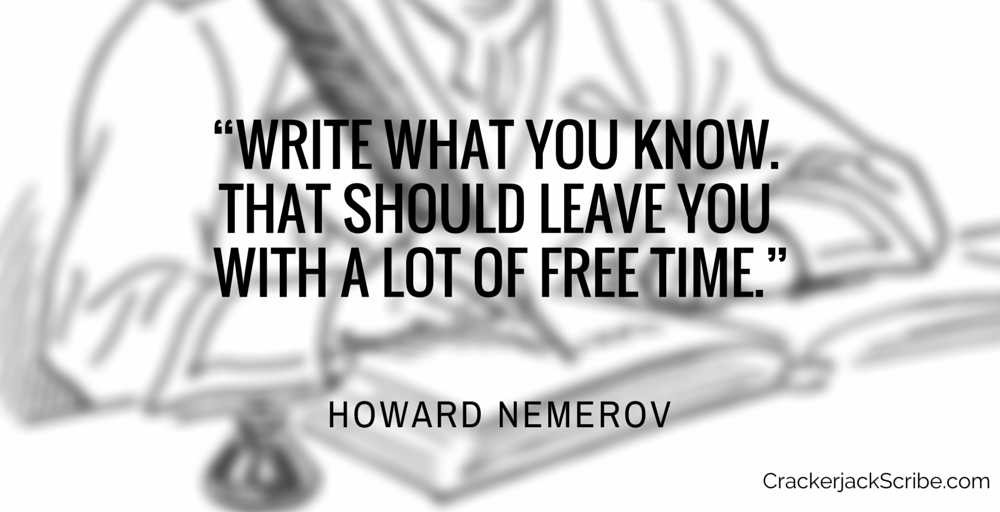 Quote: Howard Nemerov