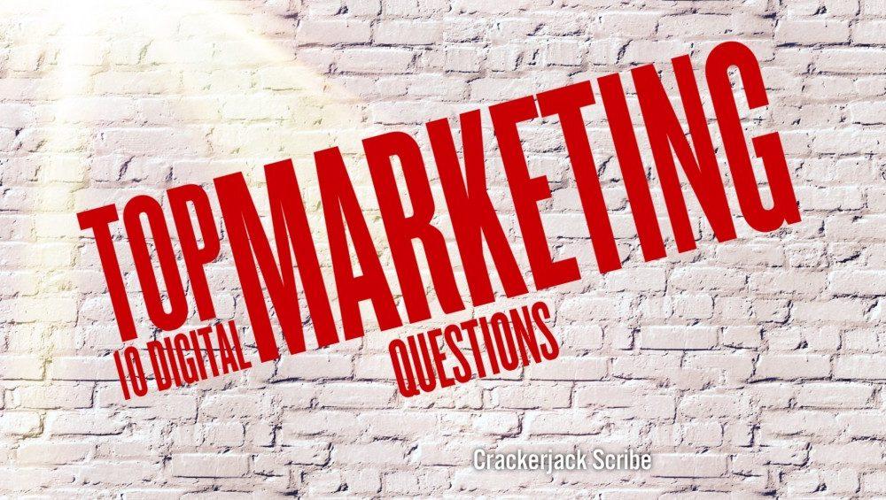Top 10 digital marketing questions, CJS Media