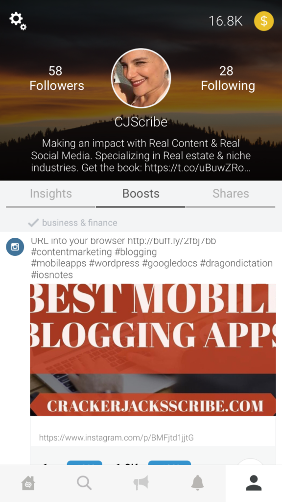 CoPromote social media app