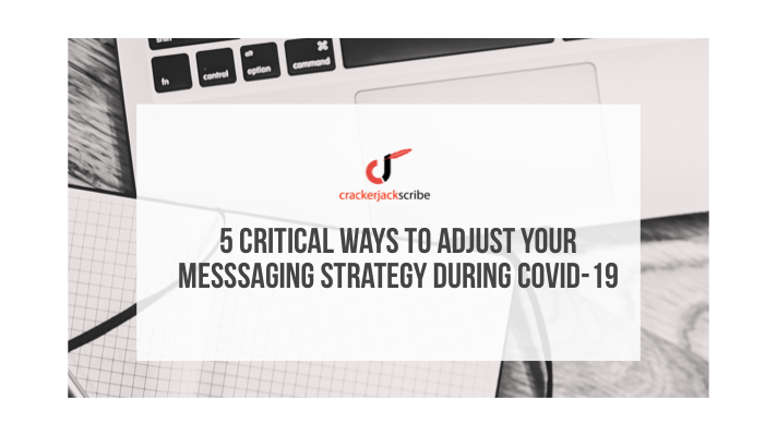 Messaging strategy COVID-19 blog