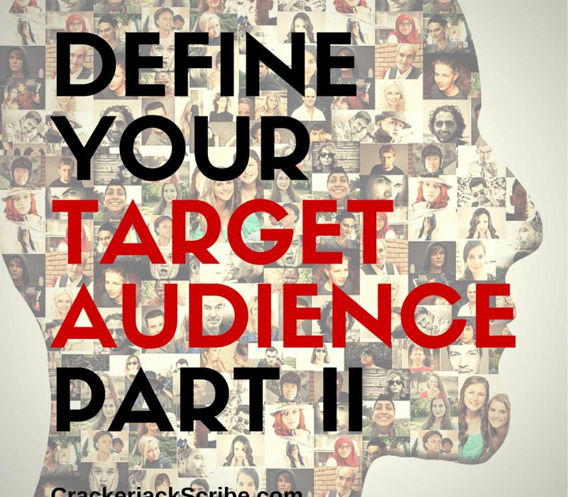 Define you social media target audience