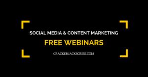 social media marketing webinars