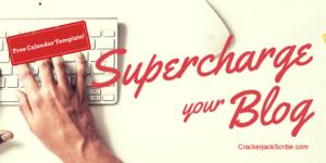 Blog Editorial Calendar | Crackerjack Scribe