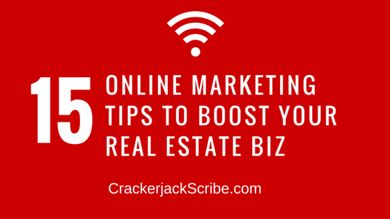 15 Online Marketing Tips to Boost Your Real Estate Business