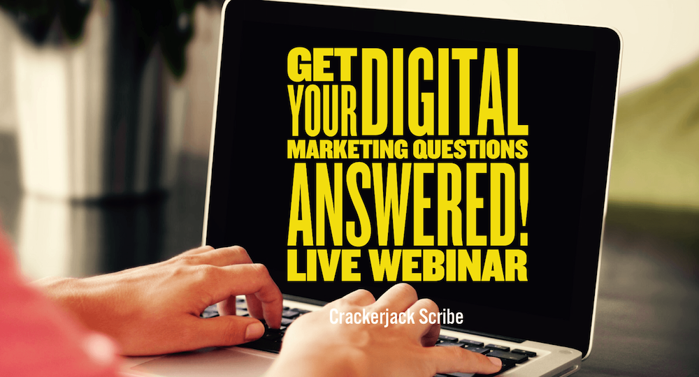 top digital marketing questions webinar