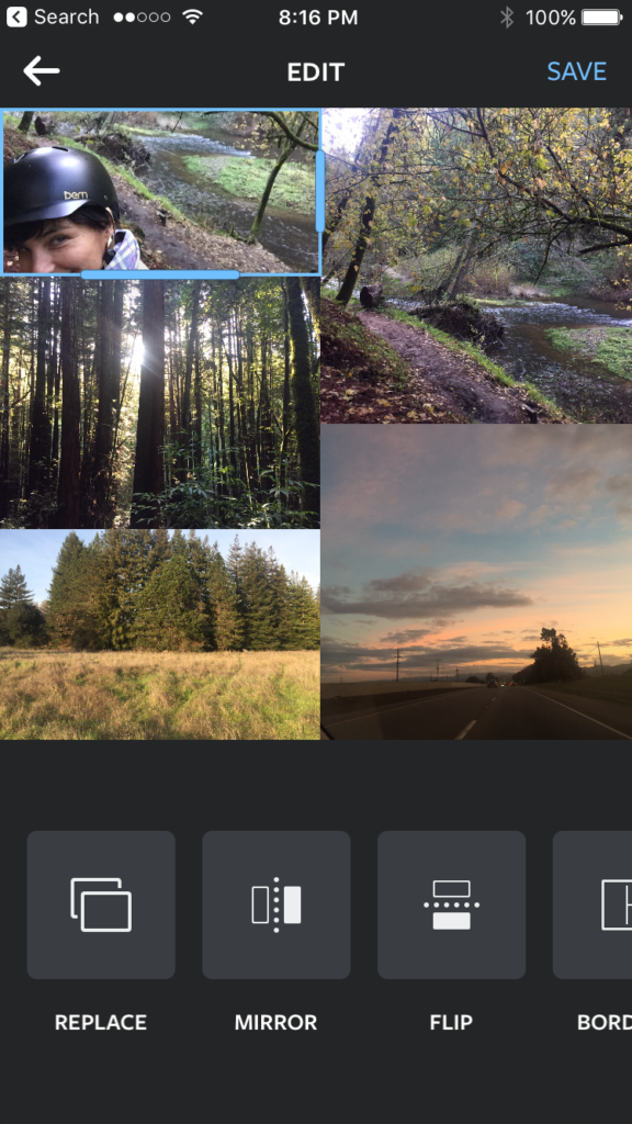 image apps Layout
