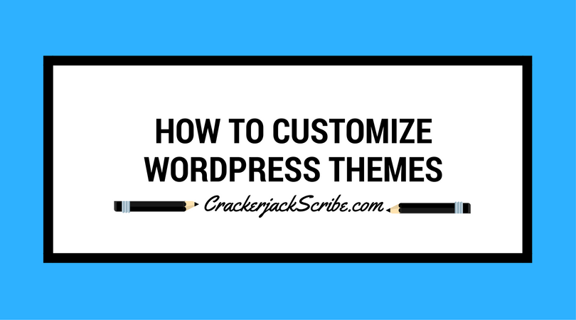 How to customize wordpress themes