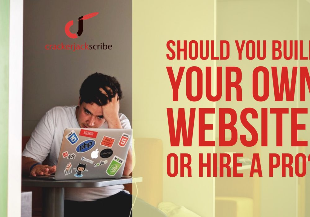 Build your Website or hire a pro?