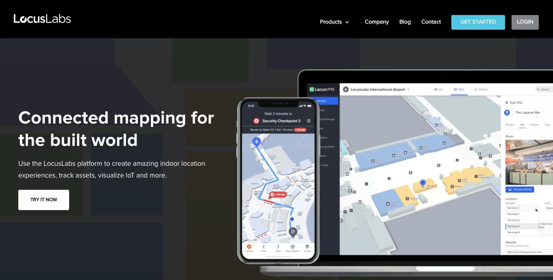 Technology website design services